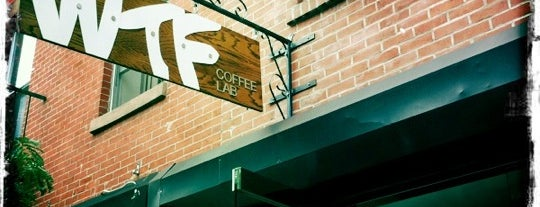 WTF Coffee Lab is one of @EaterNY: Where to Drink Coffee in NYC Right Now.