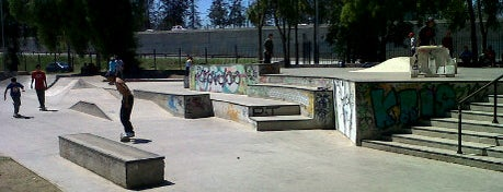 Skatepark Parque O'Higgins is one of Santiago, Chile #4sqCities.