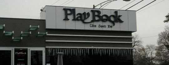 Playbook Sports Bar is one of Official Blackhawks Bars.