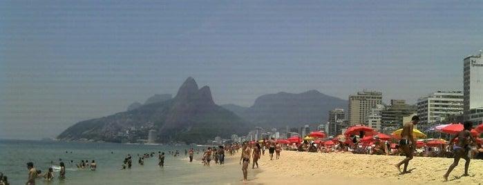 Praia de Ipanema is one of The Beaches in Rio de Janeiro, Brazil.