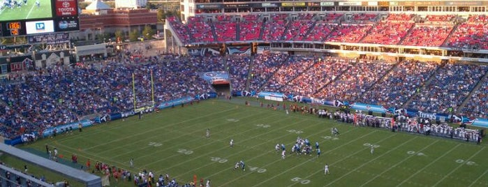 Nissan Stadium is one of Nashville.