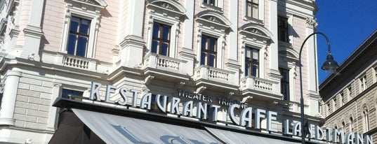 Café Landtmann is one of Mittagsgerichte in Wien.
