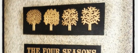 The Four Seasons Restaurant is one of Eating New York City.