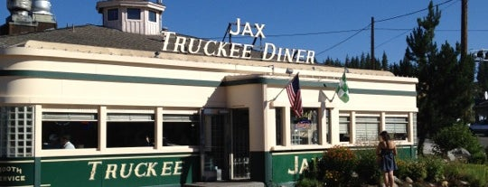 "Jax at the Tracks is one of ""Diners, Drive-Ins & Dives"" (Part 1, AL - KS)."