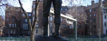 Gen. George S. Patton Statue is one of IWalked Boston's Public Art (Self-guided Tour).
