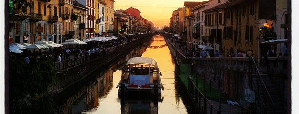 Naviglio Pavese is one of Milano.