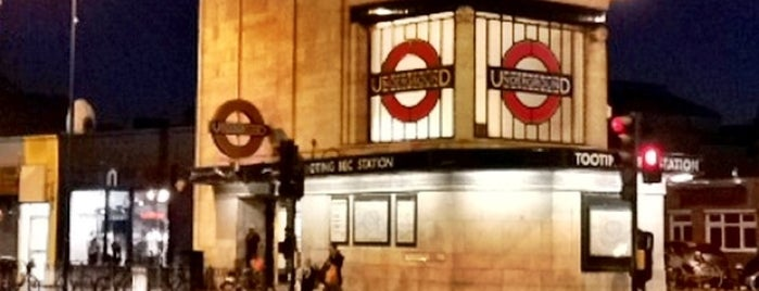 Tooting Bec London Underground Station is one of Tube Challenge.