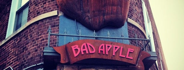 The Bad Apple is one of Chicago List.