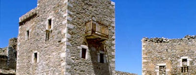 Tower towns in Greece