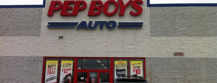 Pep Boys Auto Parts & Service is one of Important.
