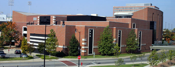 Memorial Gymnasium is one of Reunion / Homecoming Weekend 2011.
