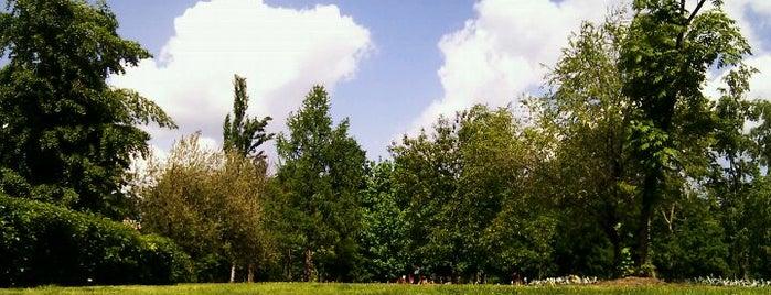 Воронцовский парк is one of Лучшие парки Мск.