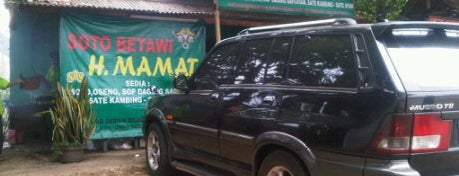 Soto Betawi H. Mamat is one of Food Channel - BSD City.