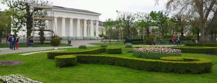 Volksgarten is one of StorefrontSticker #4sqCities: Vienna.