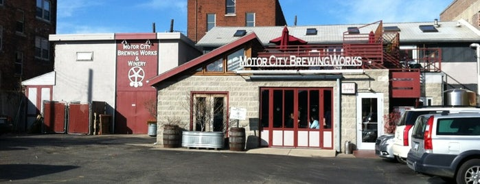 Motor City Brewing Works Inc is one of Breweries.