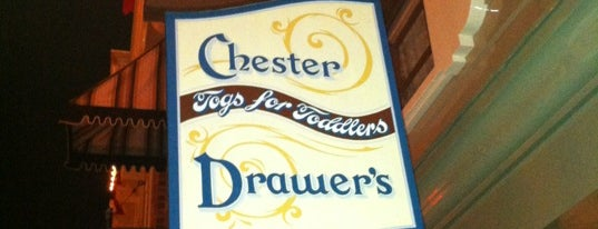 Chester Drawers Togs For Toddlers is one of Disneyland Shops.