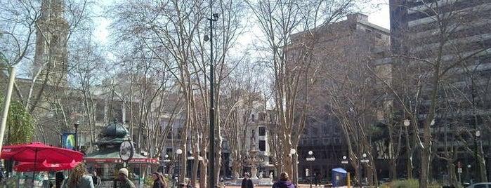 Plaza Matriz is one of Montevideo City Badge - Mateína.