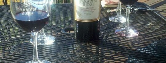 Paradise Ridge Winery - Santa Rosa Estate Tasting Room is one of Wine Road Picnicking- al Fresco Perfetto!.
