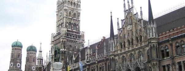 Marienplatz is one of Germany.