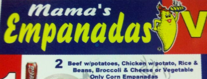 Mama's Empanadas is one of Astoria-Astoria!.