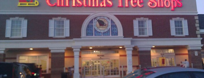 Christmas Tree Shops is one of 20 favorite restaurants.