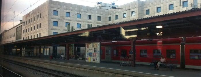 Ulm Hauptbahnhof is one of Bahnhöfe DB.