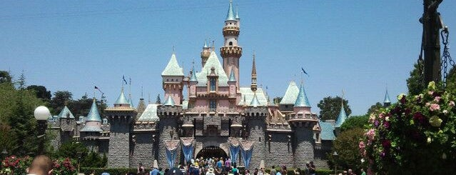 Disneyland is one of Scenic Route: US West Coast.