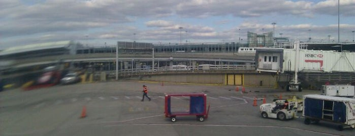 John F. Kennedy International Airport (JFK) is one of NYC.