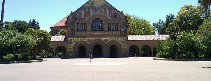 Stanford University is one of A Visitors Guide to Silicon Valley by Steve Blank.