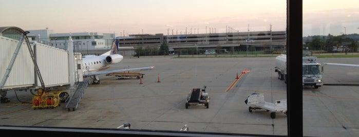 Gate A10 is one of Cincinnati Airport.