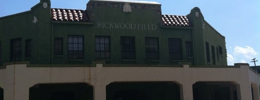 Rickwood Field is one of MiLB Southern League.