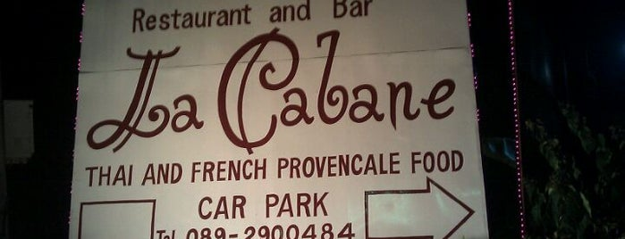 La Cabanne is one of Thailand TOP places.