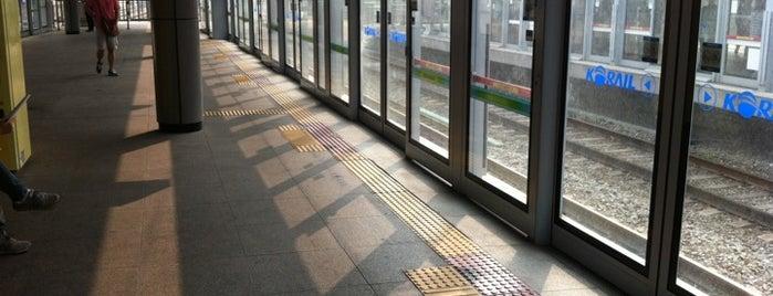 회기역 (Hoegi Stn.) is one of Subway Stations in Seoul(line1~4 & DX).