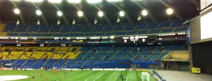 Stade Olympique is one of การแข่งขันฟุตบอลนัดสำคัญ.