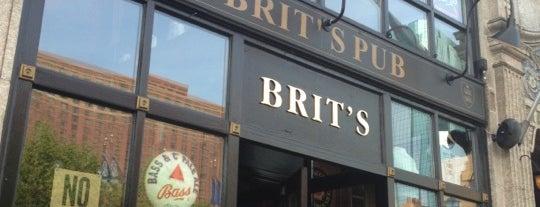 Brit's Pub & Eating Establishment is one of Patio's in Minneapolis.
