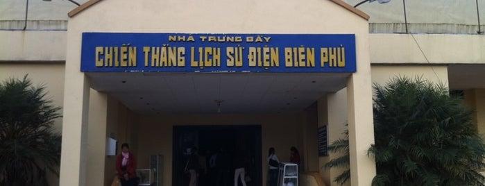 Bảo Tàng Chiến Thắng Điện Biên (Dien Bien War Museum) is one of Điện Biên Place I visited.