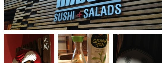 Kabuki Sushi + Salads is one of A COMER.....
