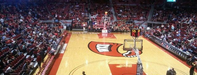 E.A. Diddle Arena is one of Bowling Green, Kentucky Attractions.