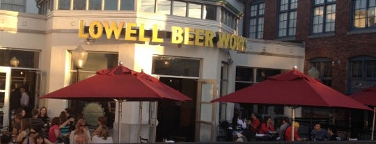 Lowell Beer Works is one of Brewpubs - New England.