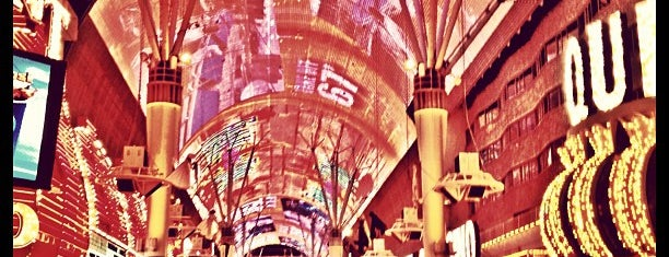 Fremont Street Experience is one of Not so rainy day.