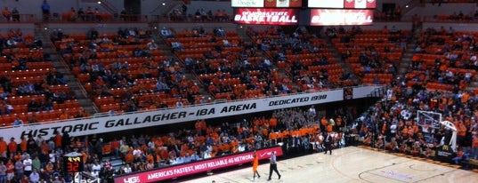 Gallagher-Iba Arena is one of Top Picks for Sports Stadiums/Fields/Arenas.