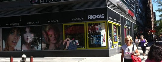 Rickys is one of Best NYC Beauty Shopping.