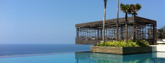 Alila Villas Uluwatu . Bali is one of Best Hotels in Bali.