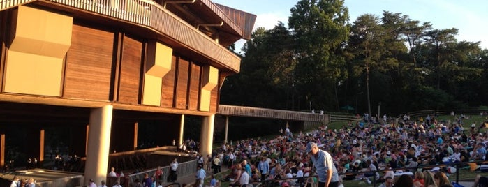 Wolf Trap National Park for the Performing Arts (Filene Center) is one of Performance Spaces.