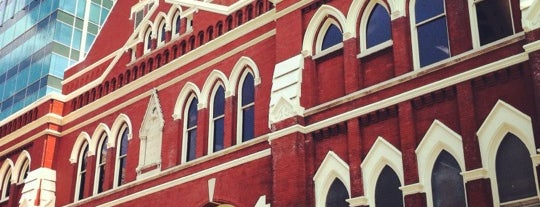 Ryman Auditorium is one of trek to soon....