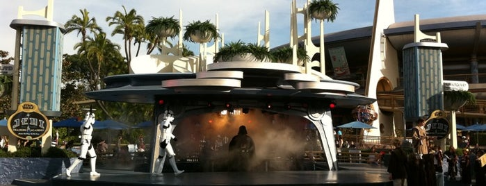 Jedi Training Academy is one of Disneyland: The Happiest Place on Earth.