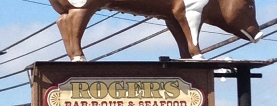 Roger's Bar-B-Q House is one of South Carolina Barbecue Trail - Part 1.