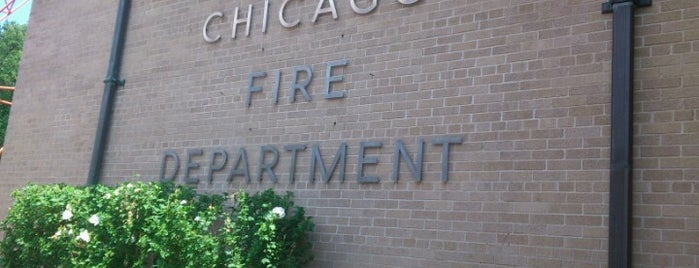 Chicago Fire Dept. Eng. Co. 106 is one of Work.