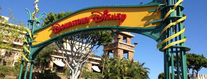 Downtown Disney Parking Lot is one of Disneyland Fun!!!.