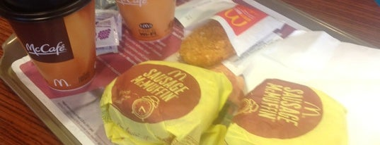 McDonald's is one of Food Places.